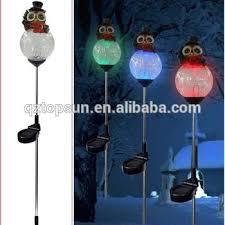 Solar Stake Garden Lights - 577 best jardim com coruja images on pinterest owls tabletop