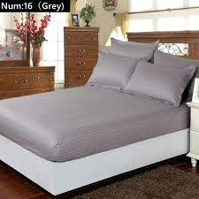 Hotel Bed Frame Hotel Bed Frames Cotton Satin Hotel Bed Solid Fitted Sheet