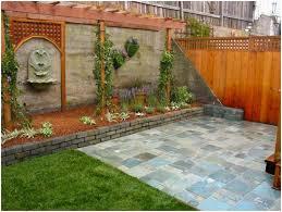 Fence Ideas For Small Backyard by Backyards Splendid Image Of Cheap Fence Ideas Yard 108 Backyard
