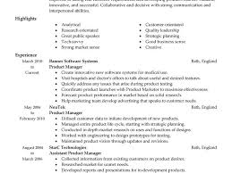 Product Manager Resume Example by Manager Resume Sample Resume Example