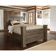 ashley storage bed juararo poster storage bed signature design by ashley furniture