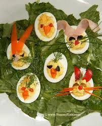 easter deviled eggs recipe funky bunnies appetizer