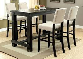 counter height gathering table counter height table with stools antique black counter height table
