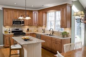 concrete countertops kitchen cabinet refacing cost lighting