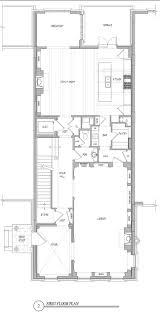 efficient floor plans compact house plans baby nursery narrow lot floor plan house