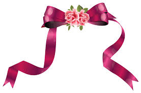 decorative ribbon with roses png clipart image gallery