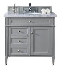 minimalist vanity bathroom furniture dual integrated sinks tuscan light grey master