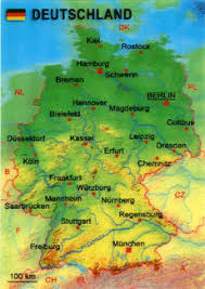 map of deutschland germany map of deutschland germany 3d lenticular postcard greeting card