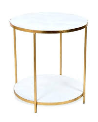white marble accent table white round end table stunning ideas white marble accent table
