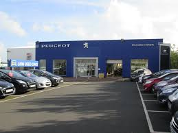 peugeot main dealer richard hardie ashington