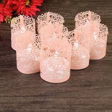 light pink votive candle holders 50pcs tea light candle holders paper hollow out pattern wraps