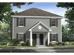 House Plans For Two Families Multi Family House Plans The House Plan Shop
