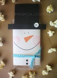 halloween popcorn gifts diy neighbor teacher gift snowman popcorn covers