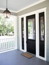 photos hgtv modern home entry with black front door large window