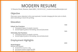 Simple Resume Sample Format by Resume Template Google Zombotron2 Info
