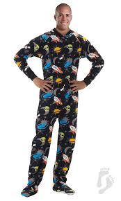 in space footed pajamas pajamas one