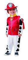 Boy Halloween Costumes Paw Patrol Marshall Child Halloween Costume Toddler Child Size
