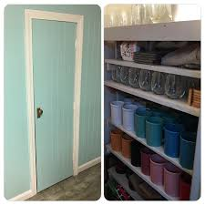 Craft Rooms Pinterest by Craft Room Bonus Storage Closet For My Cups And Mugs My Craft