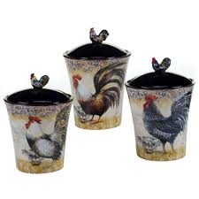 Rooster Kitchen Canisters Canister Sets Home World