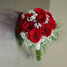 Red Rose Bouquet Red Rose Wedding Bouquet Google Search Wedding Ideas