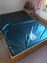 Water Bed Complete King Size Ft X Ft Cm X Cm Mattress - Waterbed bunk beds