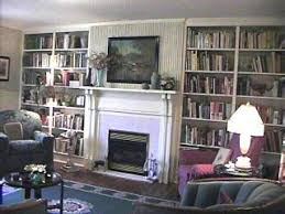 Floor To Ceiling Bookcases Interior Details Jesse Mustain House Pittsylvania County Virginia
