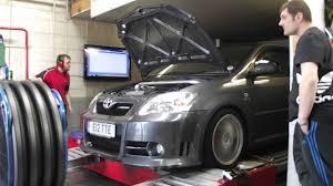 toyota corolla t sport parts toyota corolla compressor t sport 2zz tte dyno rolling road