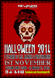 tickets for incursion presents halloween 2014 in perth from