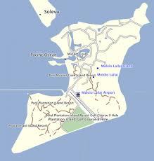 fiji resort map plantation island resort map fiji travel guide gallery
