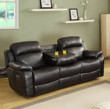 flexsteel chicago reclining sofa homelegance marille double reclining sofa w center drop down cup