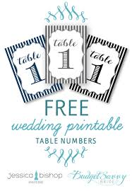 Table Numbers Wedding Diy Wedding Table Numbers The Bright Ideas Blog