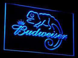 cheap light up beer signs budweiser lizard lighted sign light up beer signs light signs cave