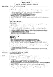 resume format for computer teachers doctrine lead instructor resume sles velvet jobs