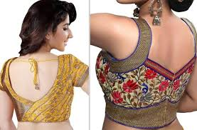 20 blouse back neck designs