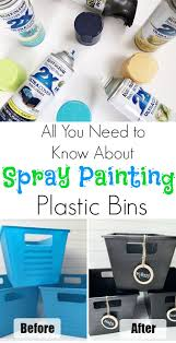25 unique paint plastic ideas on pinterest painting plastic