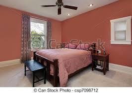 chambre peche murs maître coloré pêche chambre à coucher plafond photo