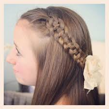 hairstyle pretty with braid for prom 2017