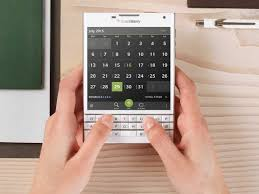 blackberry pins comeback hopes on square phone national
