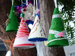 Homemade Christmas Tree by Handmade Christmas Tree Mobiles Free Stock Photo Public Domain
