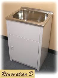 24 Inch Laundry Sink Cabinet Bathroom Great Kitchen Amazing Laundry Tub Vanity Combo Industrial
