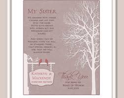 matron of honor poem matron of honor poem etsy