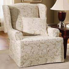 Wingback Chair Slipcover Pattern Wingback Chair Slipcover Pattern U2014 Flapjack Design Elegant