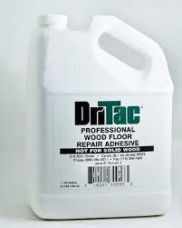 dritac professional wood repair adhesive 1 gallon floor cleaners