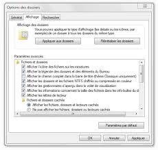 comment faire apparaitre les icones sur le bureau windows 7 comment faire apparaitre mes dossiers cachés clubic