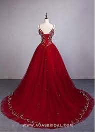 maroon quinceanera dresses fascinating tulle spaghetti straps neckline gown quinceanera