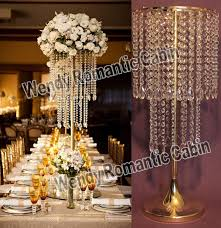 gold centerpieces free shipping 62cm h wedding table centerpiece gold