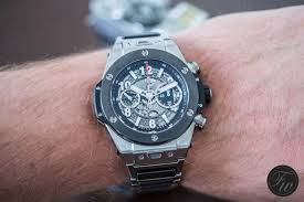 hublot ceramic bracelet images Hublot big bang unico titanium ceramic hands on review jpg