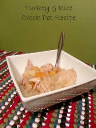 turkey rice crock pot recipe for thanksgiving