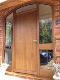 Solid Oak Exterior Doors Remarkable Oak Front Doors With Frame Ideas Ideas House Design