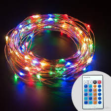 cheap dimmable led string lights copper wire 33ft led starry light